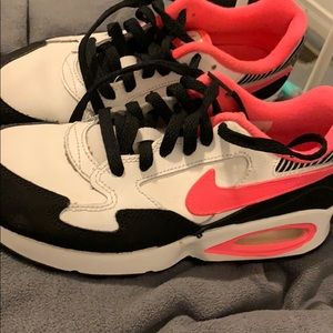 Nike Air Max ST (Pink, Black & White)